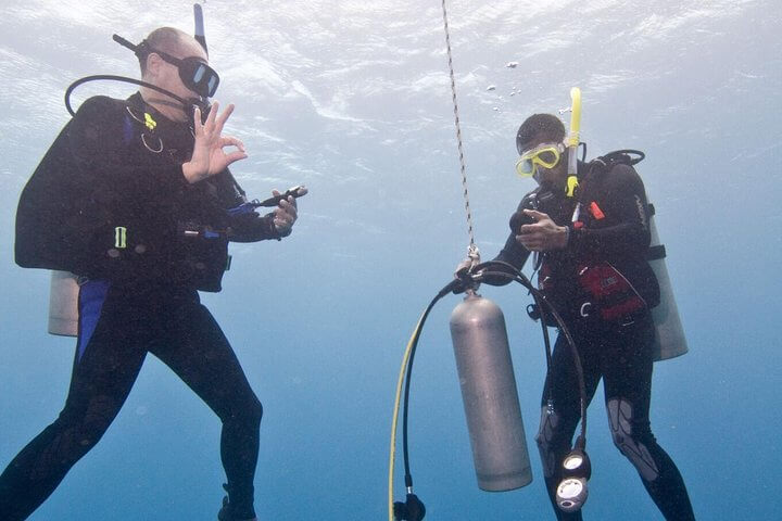 PADI Deep Diver Course with Divingguru