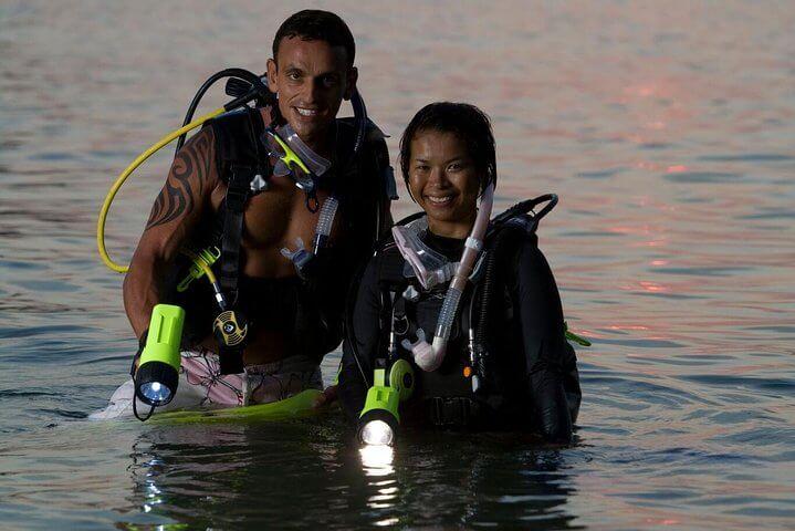 PADI Night Diver Course with Divinguru in Sri Lanka