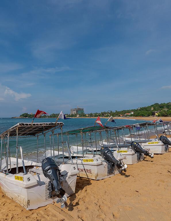 diving boats in Sri Lanka