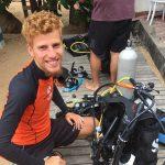 dive equipment preparation Norbert Majoros
