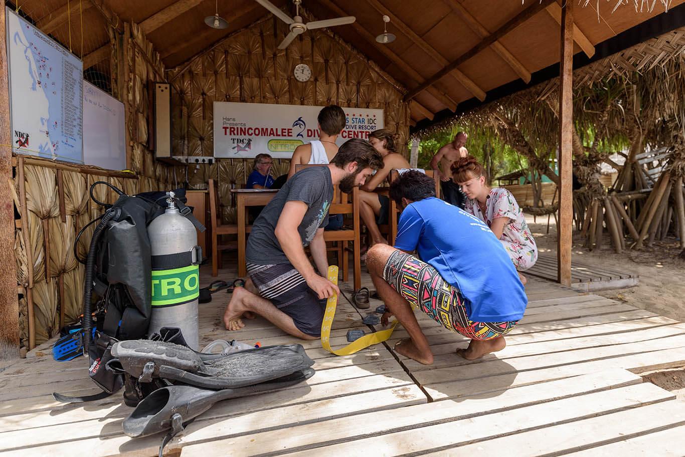 Equipment Preparation Trincomalee
