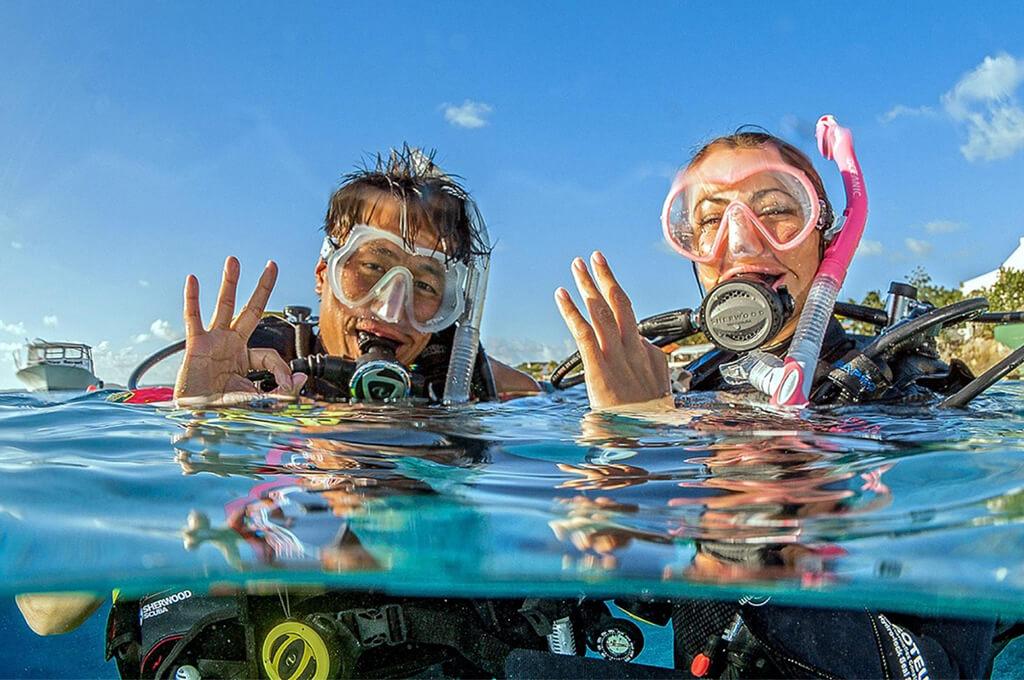PADI Open Water Diver course with Divinguru in Sri Lanka